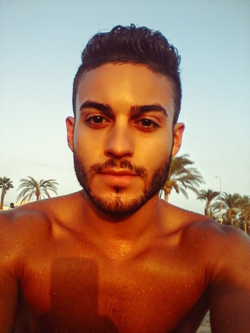 queue gay beau mec arabe nu
